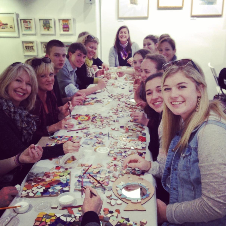 mosaic class student group